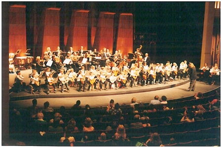 Devine Guitar School concert with San Diego Chamber Orchestra